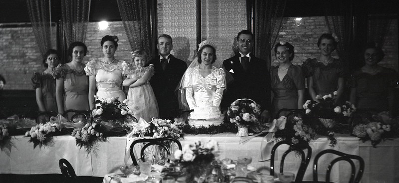 Frank and Bessie Wilcox Wedding 4