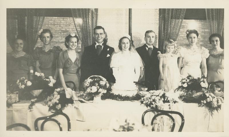 Frank and Bessie Wilcox Wedding 10
