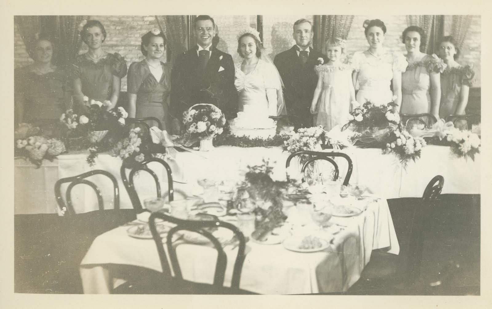 Frank and Bessie Wilcox Wedding 12