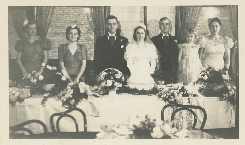 Frank and Bessie Wilcox Wedding 9