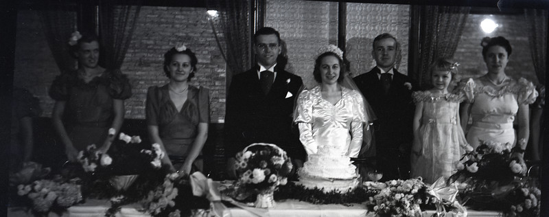 Frank and Bessie Wilcox Wedding 5