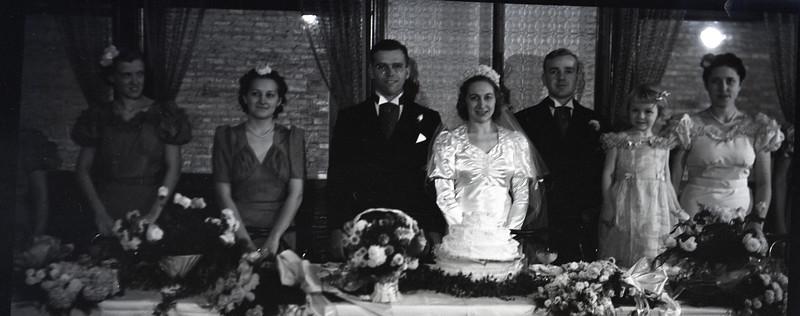 Frank and Bessie Wilcox Wedding 5