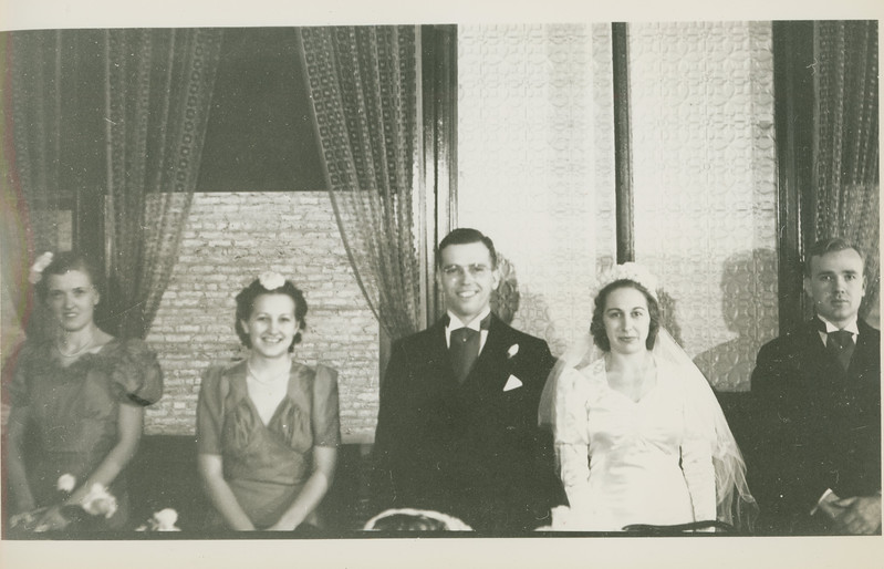 Frank and Bessie Wilcox Wedding 7