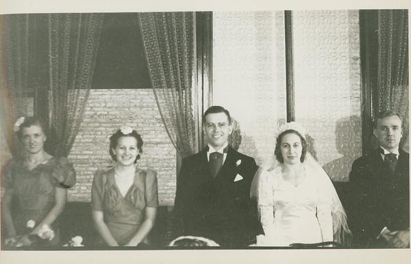 Frank and Bessie Wilcox Wedding 7