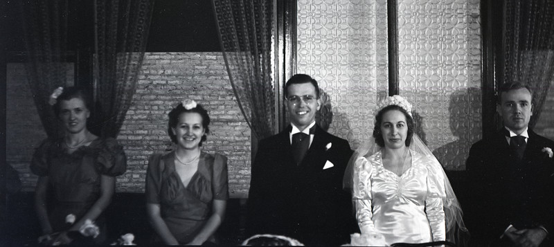 Frank and Bessie Wilcox Wedding 3