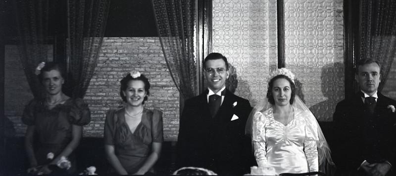 Frank and Bessie Wilcox Wedding 3