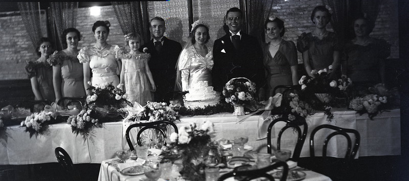 Frank and Bessie Wilcox Wedding 1