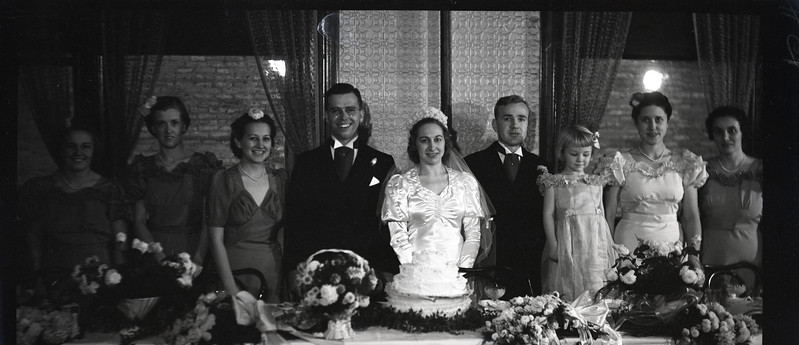 Frank and Bessie Wilcox Wedding 2