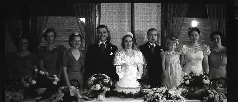 Frank and Bessie Wilcox Wedding 2