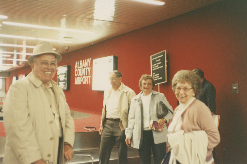 Wilcoxes and Cornells at Albany Airport 6