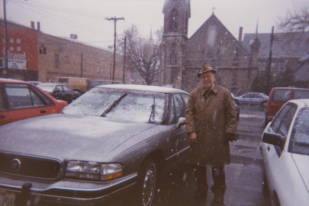 Cold Day for Grandpa
