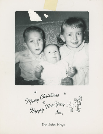 Historic Family Holiday Cards 122
