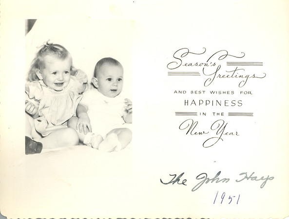 Historic Family Holiday Cards 188