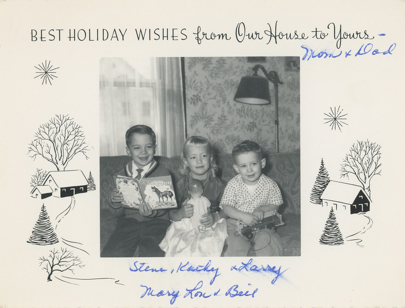 Historic Family Holiday Cards 107