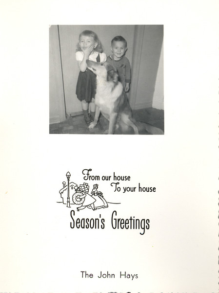 Historic Family Holiday Cards 187