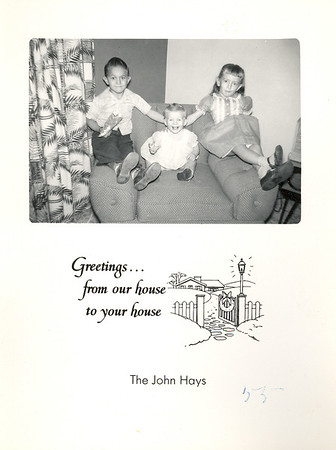 Historic Family Holiday Cards 190