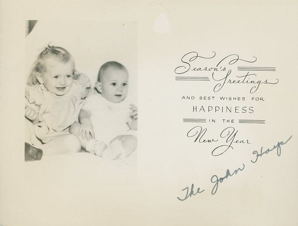 Historic Family Holiday Cards 36