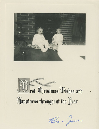 Historic Family Holiday Cards 104