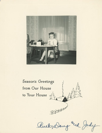 Historic Family Holiday Cards 101