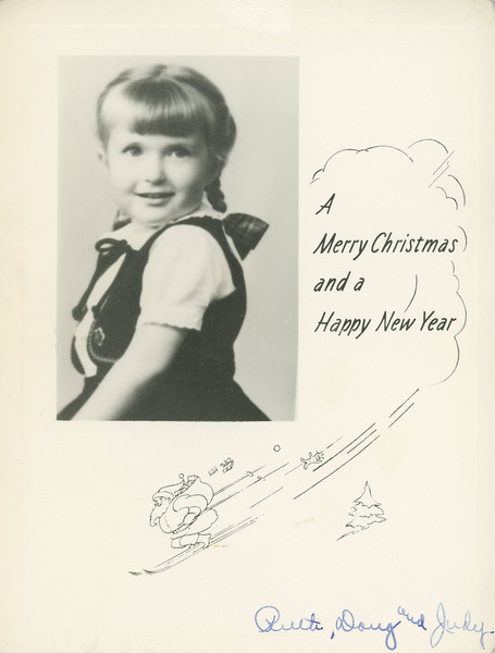 Historic Family Holiday Cards 115