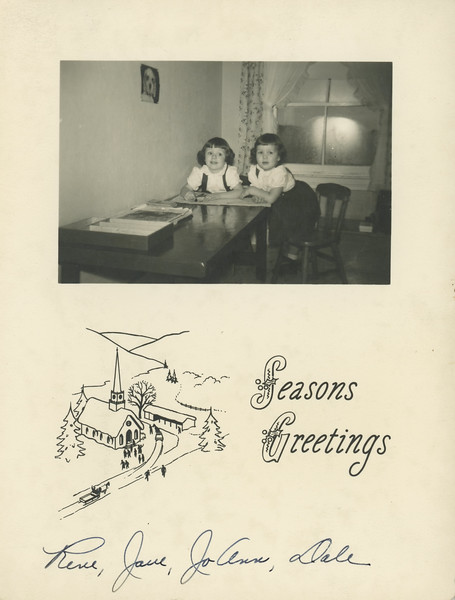 Historic Family Holiday Cards 102