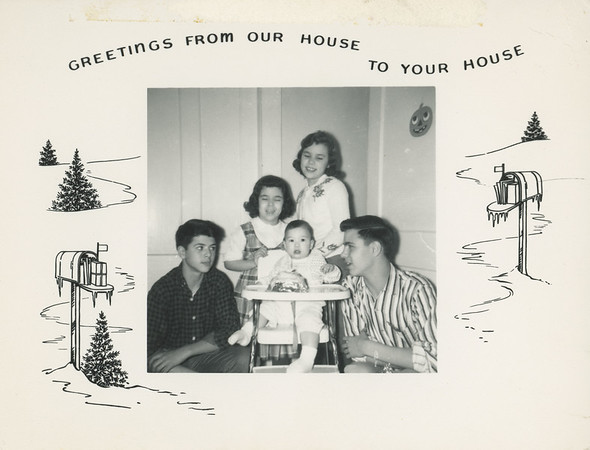 Historic Family Holiday Cards 106