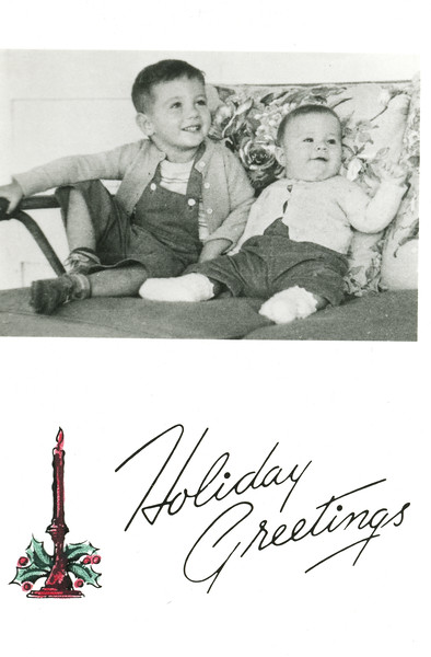 Historic Family Holiday Cards 113