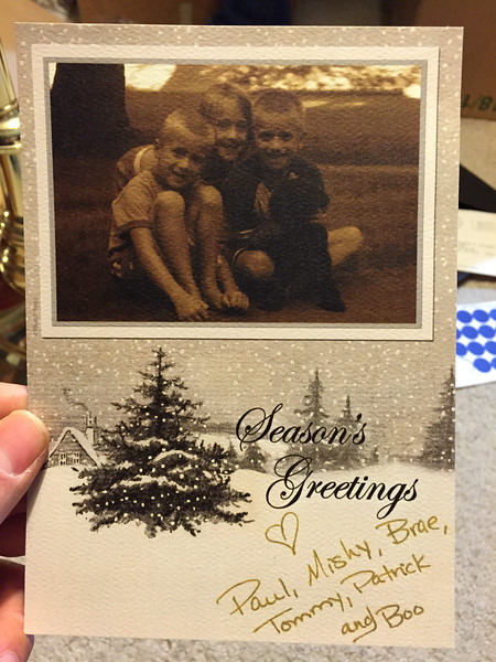 Historic Family Holiday Cards