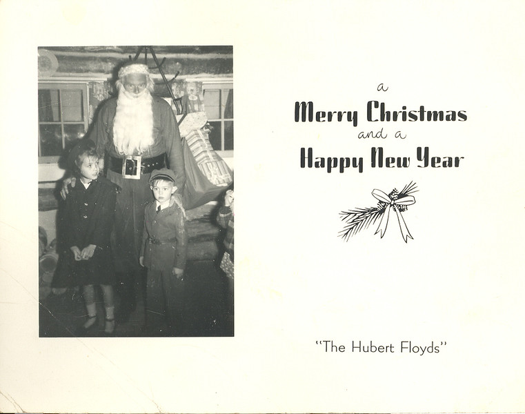 Historic Family Holiday Cards 258