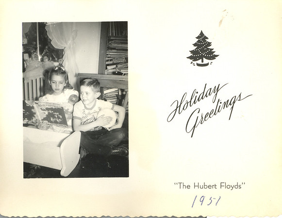 Historic Family Holiday Cards 193