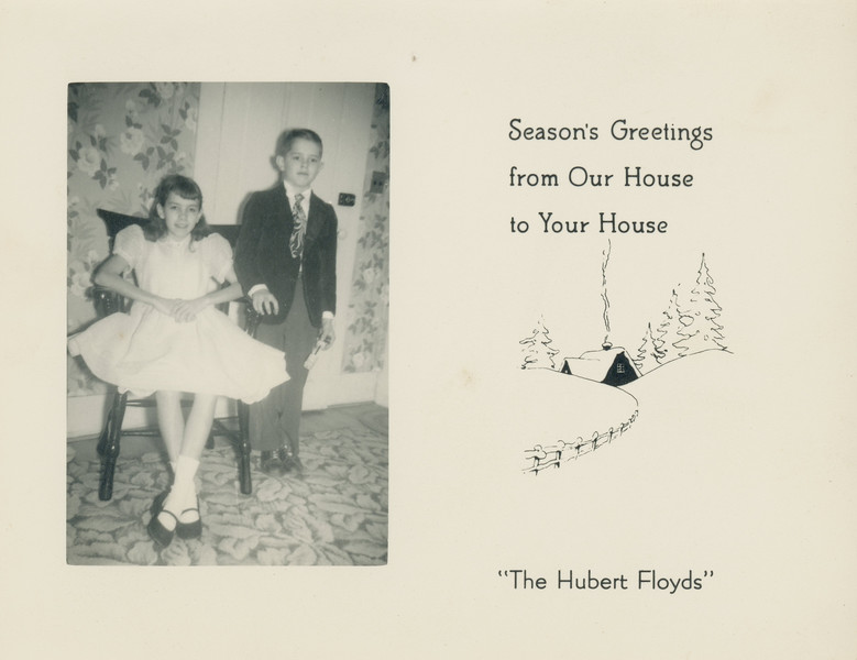 Historic Family Holiday Cards 88
