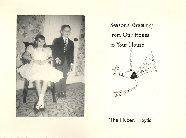 Historic Family Holiday Cards 177