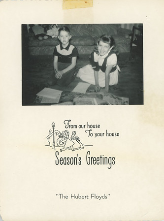 Historic Family Holiday Cards 140