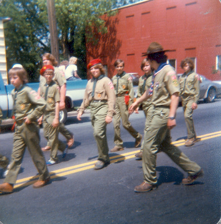 Hudson Falls Memorial Day Parade Boy Scouts 8