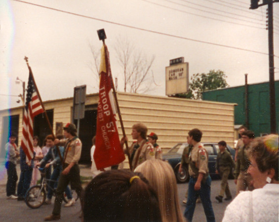 Hudson Falls Memorial Day Parade Boy Scouts 5