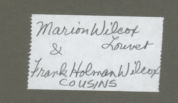 Marian and Frank Wilcox 2