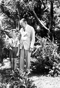 Shirley Temple & Mr Blackman-Castle Harbor Hotel Bermuda-July 1938