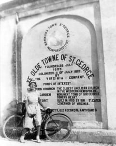 Nellie in St George's Bermuda-1938