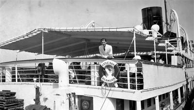 Castle Harbor Hotel boat-friend-1938