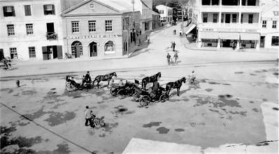 Hamilton Bermuda-Front Street-Feb 1940