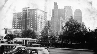 Newark NJ skyline-1936