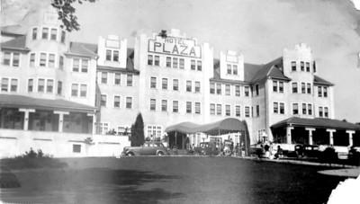 Hotel Plaza near Saratoga -Sept 1936