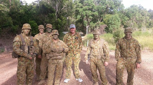 2016. Visiting C Company, 8/9 RAR