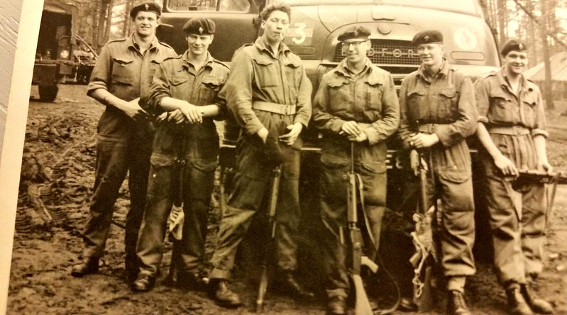 1961. Light Aid Detachment, 13/18th Hussars (QMO), Fallingbostel