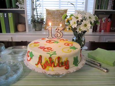 Ashley's Birthday 2011