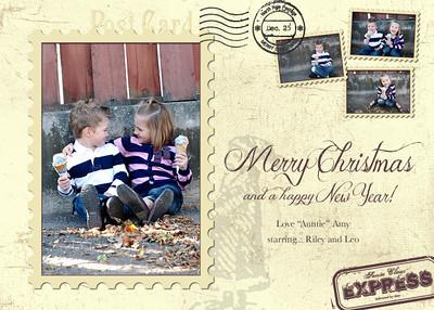 postcard style