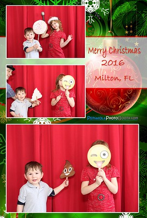 Family Christmas Milton, FL 12-27-2016