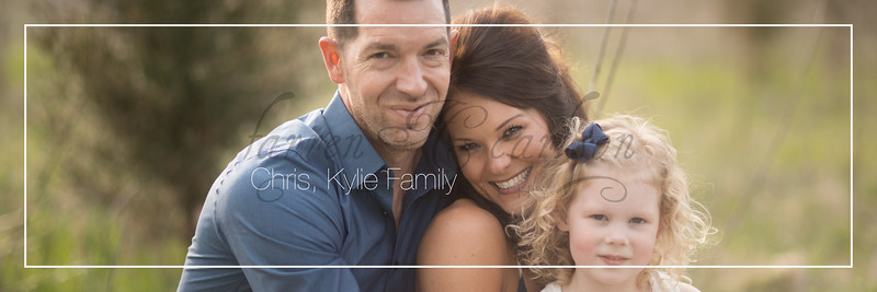 Chris, Kylie Family