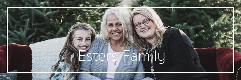 Esters Family