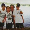 Cody C gets baptised at Kanakuk
